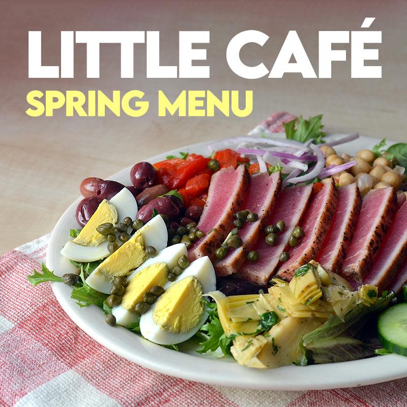 The Little Cafe - Spring Menu