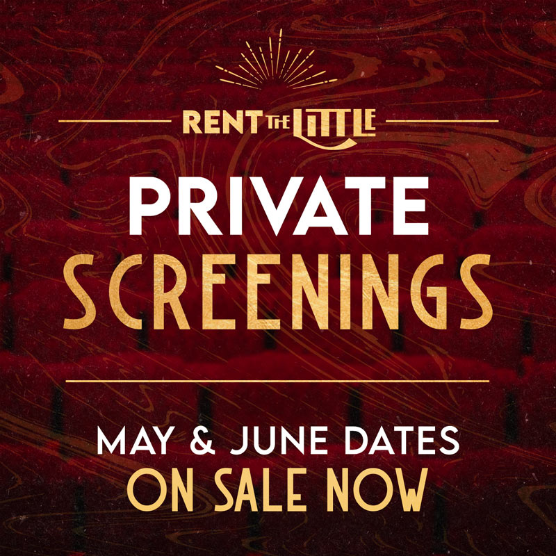 Private Screenings On Sale Now