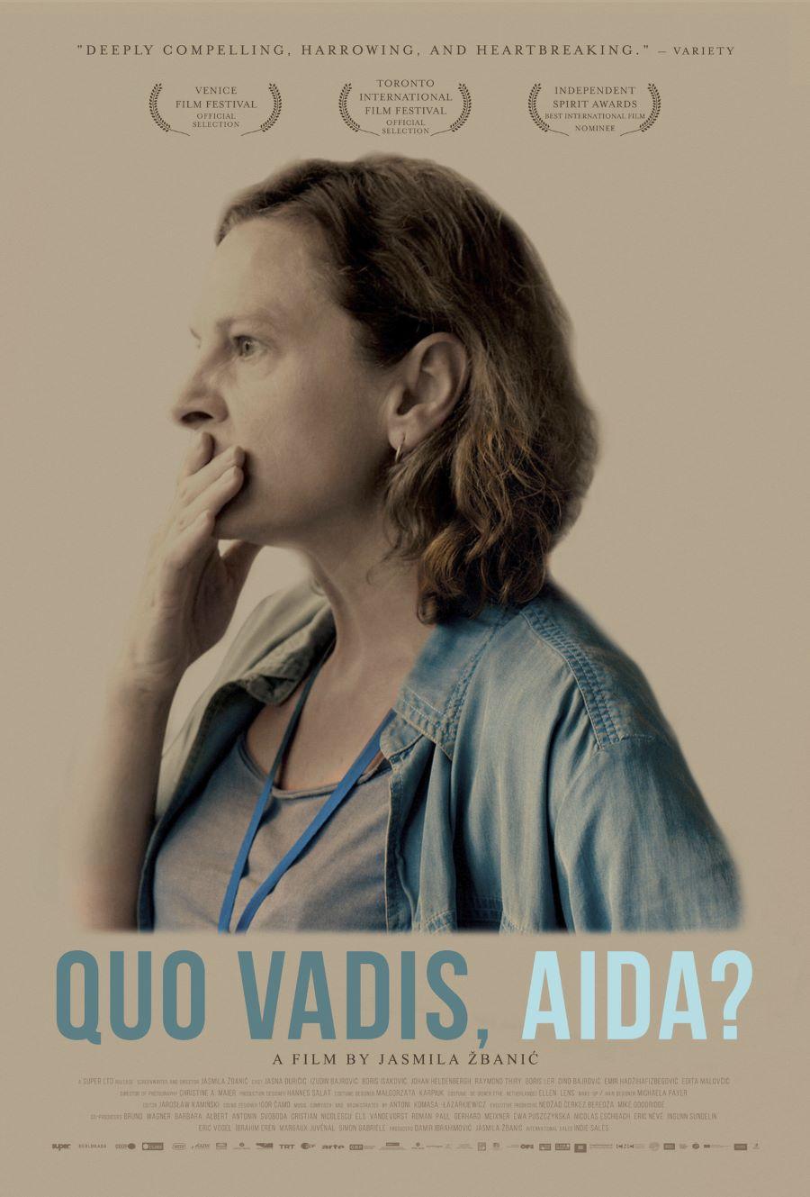 Quo Vadis Aida poster