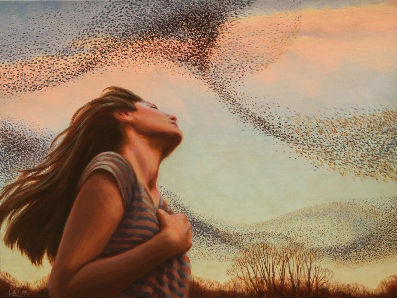 Murmuration by Nancy Lane