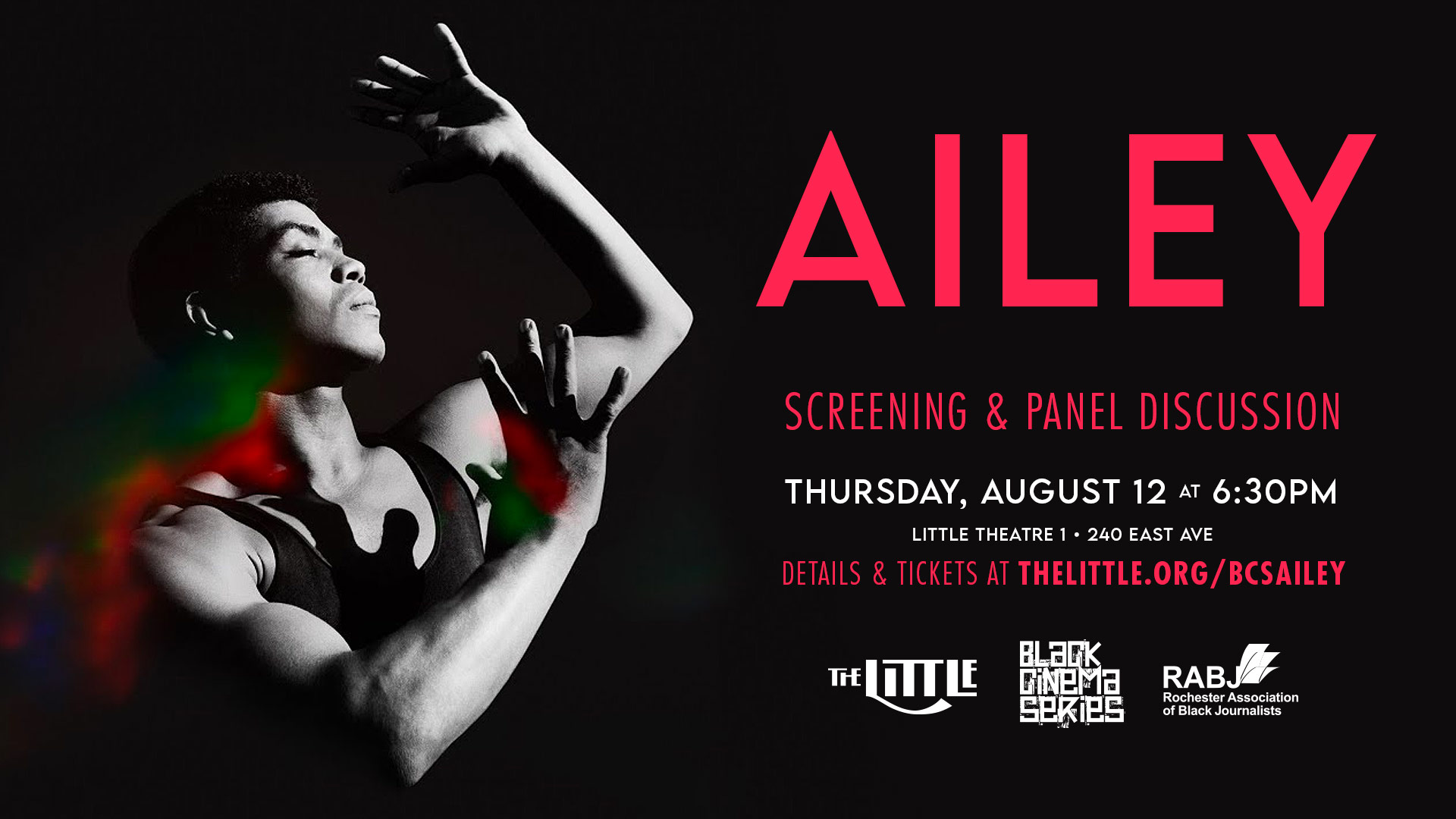 Ailey screening and panel