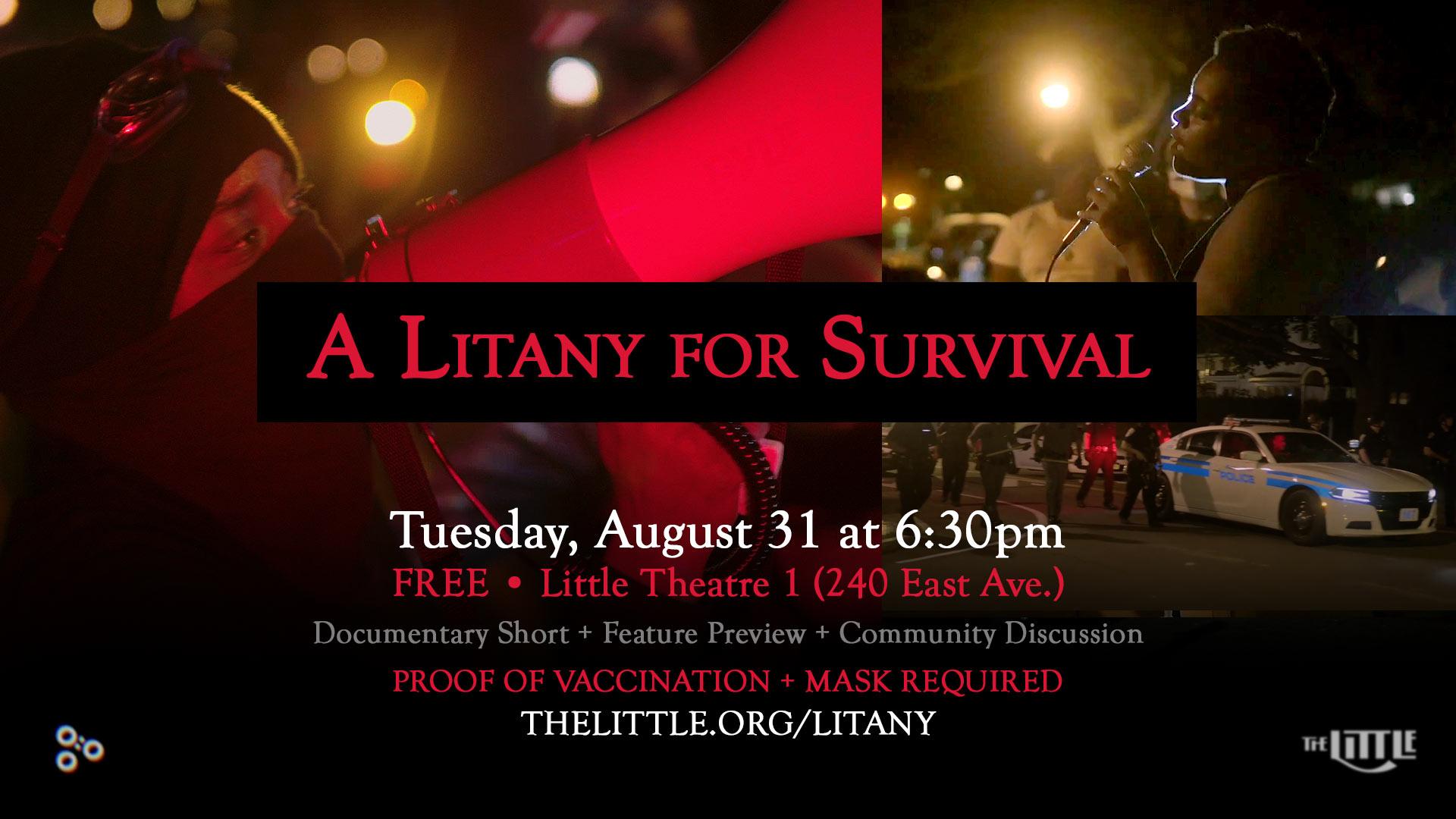 A Litany for Survival - New Slide