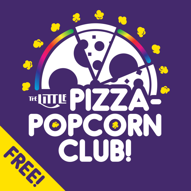 Pizza-Popcorn square